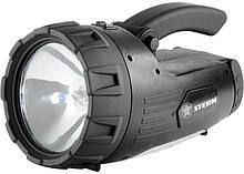 Ліхтарик пошуковий, багатофункціональний, акумуляторний, гал/25w+24led+3led STERN