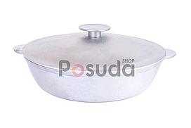 Сковорода жаровня Біол алюмінієва з кришкою 36 см А363