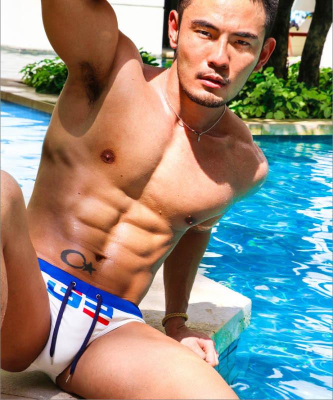 Спортивні чоловічі плавки Sport Line
