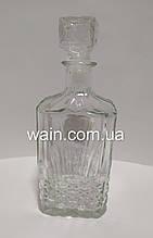 """Графин 500 мл стеклянный для алкогольных напитков """"Кристалл"""" Everglass"""