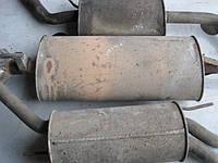 Глушитель резонатор (оригинал, б/у) Мерседес Вито (Mercedes Vito) двигатель  2.3 ТDI, 2.2 CDI  638, 639