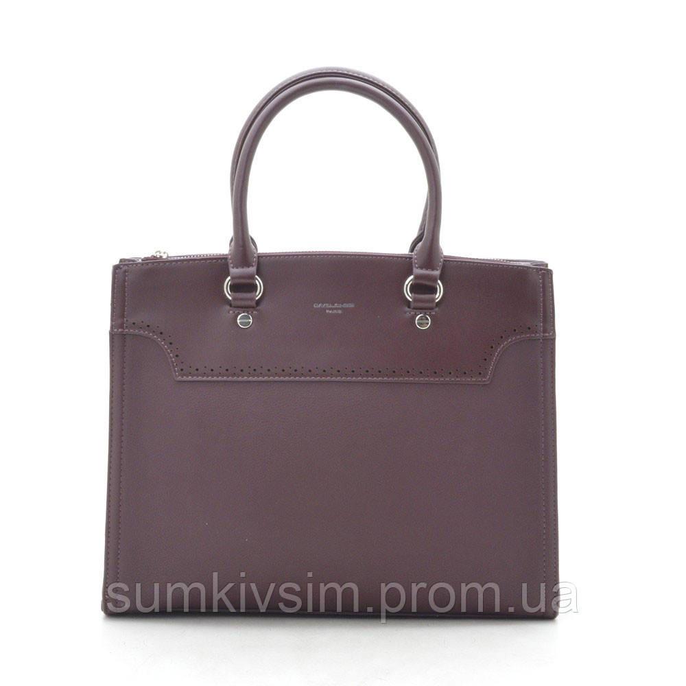 Женская сумка David Jones CM5345/CM5030 бордового цвета