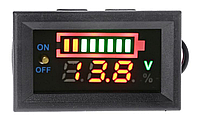 Вольтметр/тестер автомобильного аккумулятора