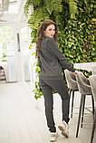 Спортивнй женский костюм из джемпера и зауженных брюк, р.42-44,46-48,50-52,54-56 код 403А, фото 4