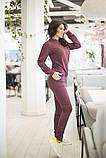 Спортивнй женский костюм из джемпера и зауженных брюк, р.42-44,46-48,50-52,54-56 код 403А, фото 10