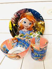 Детская Посуда для кормления на подарок, фото 3