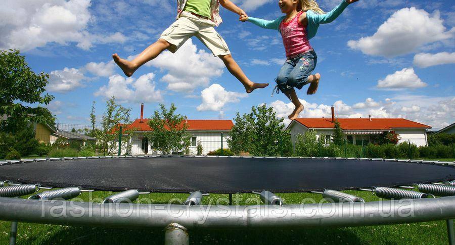 Новые поступления спортивных батутов разных размеров для детей и взрослых