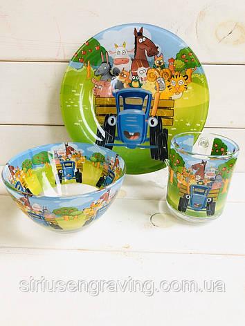 Детская Посуда для кормления на подарок ребенку, фото 2