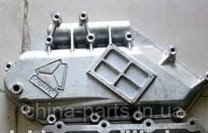 Крышка маслянного радиатора WD615 HOWO   VG1246070005A  #запчасти HOWO
