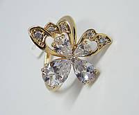 Кольцо XP Порхающая бабочка, размер 17, 18, 19, 20