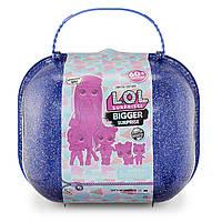 Набор Большой чемодан ЛОЛ Сюрприз Зимнее Диско L.O.L. Surprise! Winter Disco Bigger Surprise, фото 1