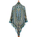 Цветок востока 834-12, платок из вискозы с подрубкой, фото 2