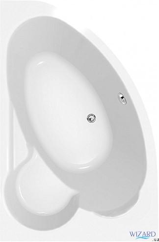 Ванна Kaliope 153x100 (левая) Cersanit AZBA1000210040