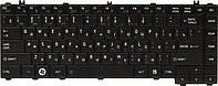 Клавиатура для ноутбука TOSHIBA Satellite L600 черный, черный фрейм