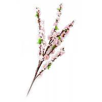 Ветка сакуры розовая (125 см)(5шт/уп) ( 24031)
