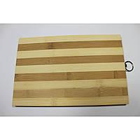 Доска кухонная (Деревянная/Бамбуковая) 20x30смх1.5см арт.211
