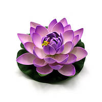 Цветок лотоса плавающий (20 см) ( 27908)