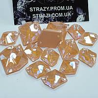 Стразы пришивные SWARO Космик 11*14мм. Crystal Electric Orange DeLite
