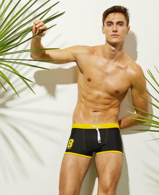 Мужские плавки-шорты Seobean Черный