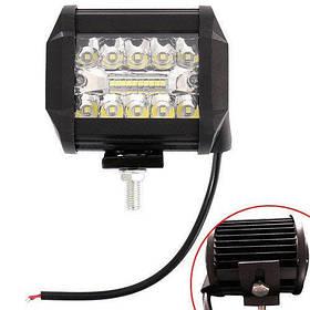 """Світлодіодна LED панель фара додаткового світла для авто 4"""" 12В 60Вт"""
