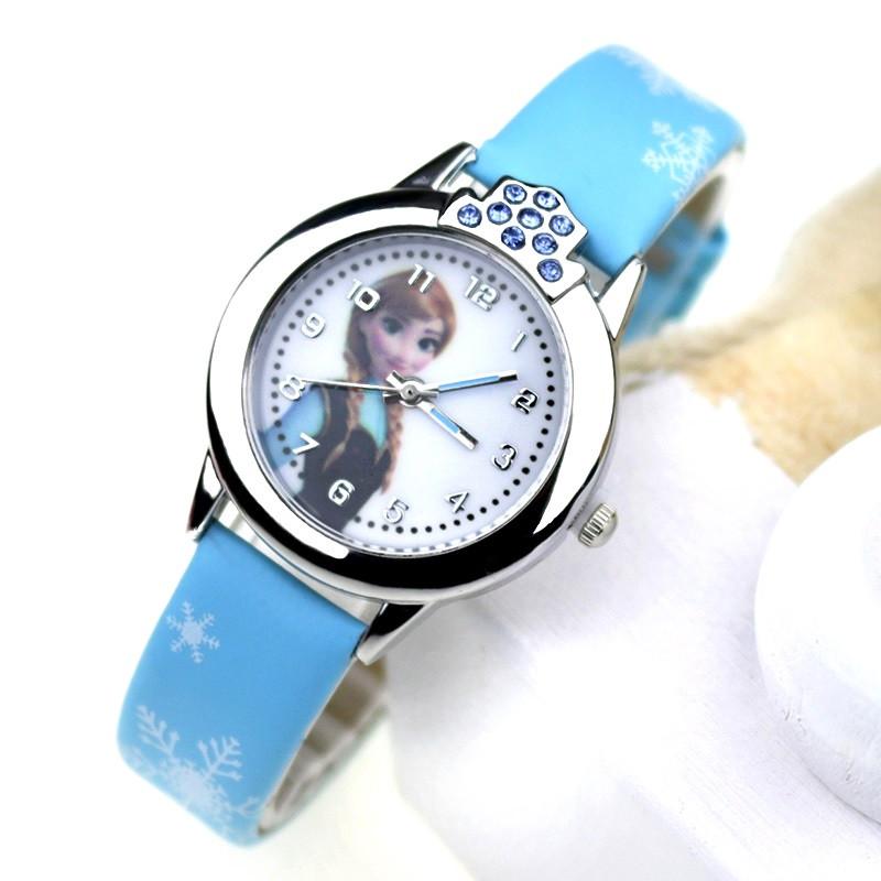 """Детские наручные часы """"Холодное сердце"""" (голубой ремешок)"""
