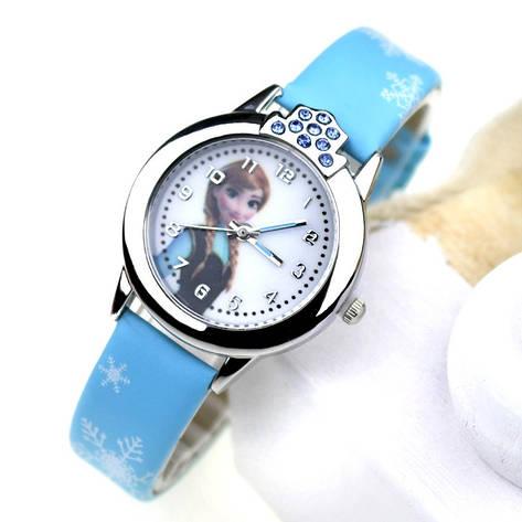 """Детские наручные часы """"Холодное сердце"""" (голубой ремешок), фото 2"""