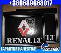 Брызговик 500X600X4 (цветной) с надписью RENAULT (TEMPEST)