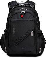 Швейцарский городской рюкзак SWISSGEAR с ортопедической спинкой / водонепроницаемый 8810