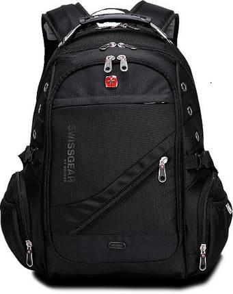 Швейцарский городской рюкзак SWISSBEAR с ортопедической спинкой / водонепроницаемый 8810, фото 2