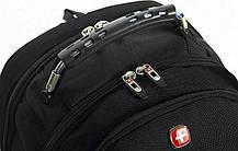 Швейцарский городской рюкзак SWISSBEAR с ортопедической спинкой / водонепроницаемый 8810, фото 3