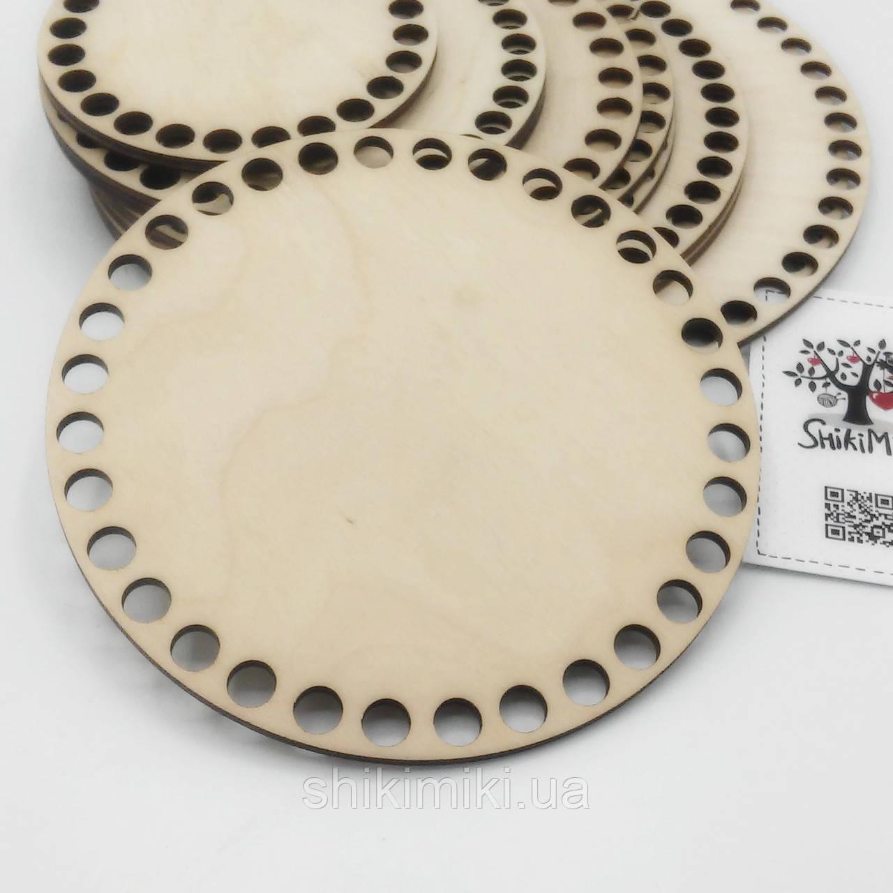 Заготовка из фанеры круглая (14 см)