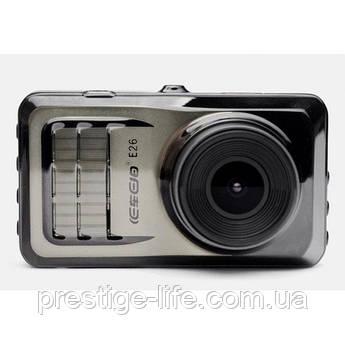 Автомобильный видео регистратор для машины DVR E-26 PRO FULL HD 1080P