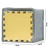 Коврик-пазл Kinderkraft Luno Yellow, 30 элементов, фото 5