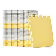 Коврик-пазл Kinderkraft Luno Yellow, 30 элементов, фото 6