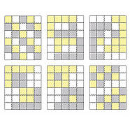 Коврик-пазл Kinderkraft Luno Yellow, 30 элементов, фото 7