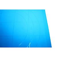 Коврик для теста силиконовый 38х28см (с разметкой) арт.1583