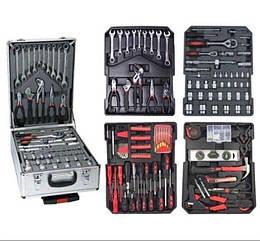 Набір інструментів AL-FA 187 елементів набір ключів,головок