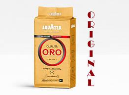 Кава мелена Lavazza Qualità Oro 100% арабіка 250 г у вакуумній упаковці