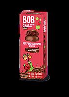 Конфеты натуральные Яблоко-клубника в бельгийском молочном шоколаде Bob Snail 30 гр. 1740463
