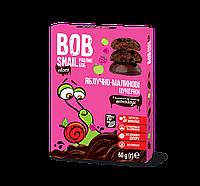 Конфеты натуральные Яблоко-малина в бельгийском черном шоколаде Bob Snail 60 гр. 1740466