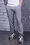 Штаны серые с лампасами Champion, фото 2