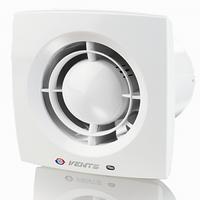 Вентилятор вытяжной Вентс 100 Х1К, ∅100 с обратным клапаном, цвет белый