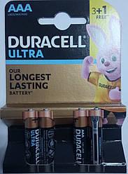 Батарейка Duracell LR03 MN2400 Ultra БЛ1x4 шт
