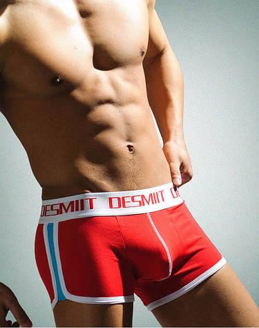 Красные мужские трусы Desmit, фото 2