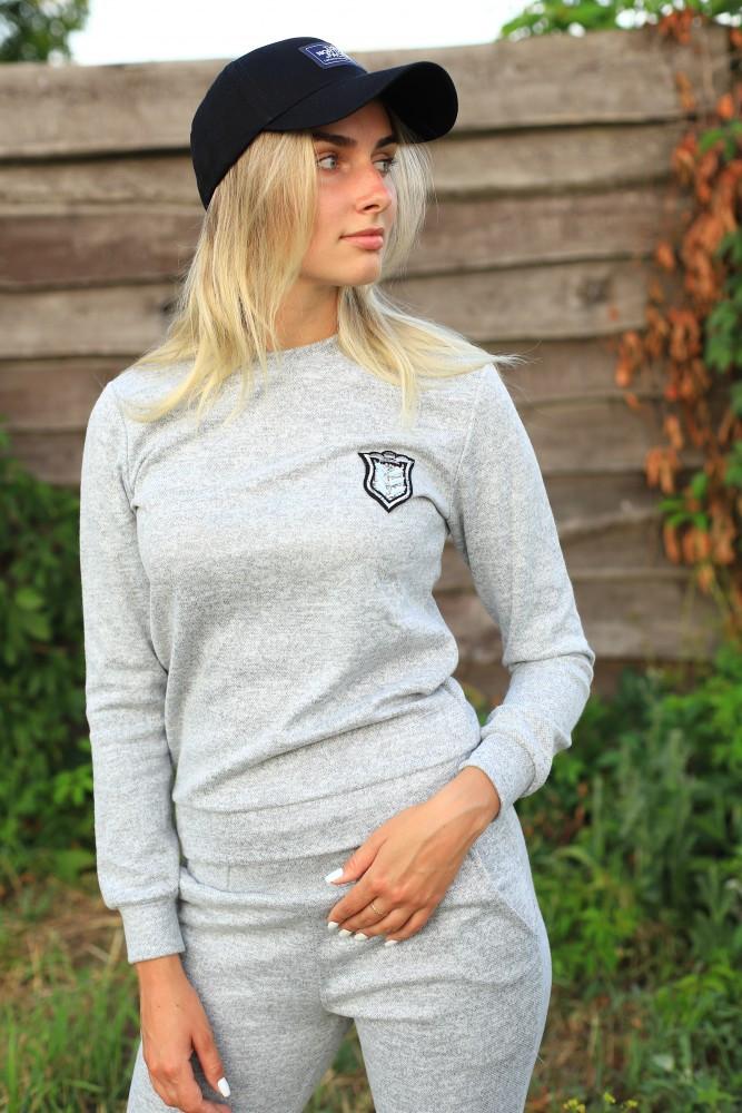 Жіночий костюм сірий Ангора
