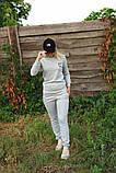 Жіночий костюм сірий Ангора, фото 5