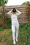 Жіночий костюм сірий Ангора, фото 7