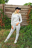 Жіночий костюм сірий Ангора, фото 8