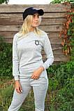 Жіночий костюм сірий Ангора, фото 9