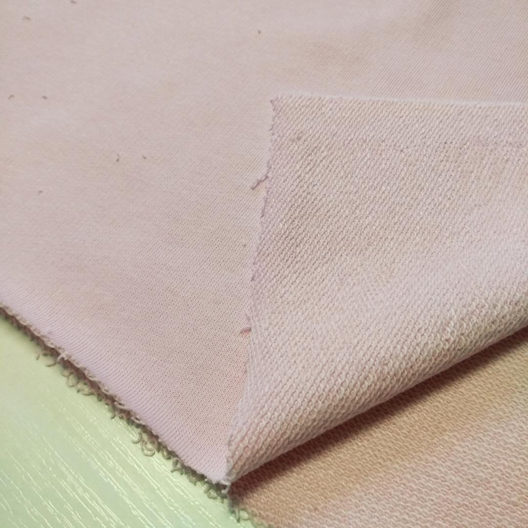 Трехнитка петля светло-розовая, плотность 320 г/м2